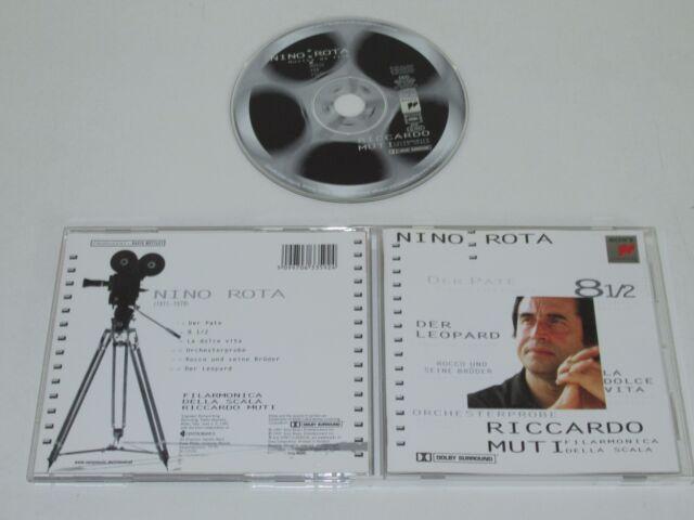 Nino Rota / Filmmuik (Sk 63359) CD Album