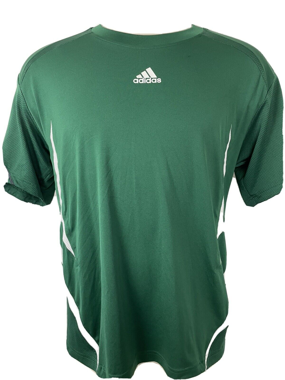 adidas Men XL Competition 3 Stripes Athletic Short Sleeve Jersey ...