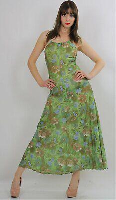 Vintage Poppies Floral Tank Dress