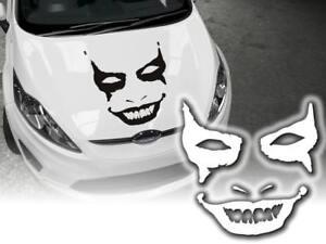 Auto-Aufkleber-Horror-Joker-Heckscheibenaufkleber-Sticker-45cm-Decals-JDM-OEM