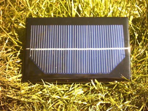 bateau 9 V 1 W Résine panneau solaire pour 7.2 V de charge de la batterie etc. avion RC voiture