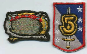 Babylon-5-Ranger-and-Sword-amp-Shield-Embroidered-Iron-on-Patch-Set