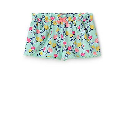 NEW Sprout Overlay Pom Pom Trim Short Mint