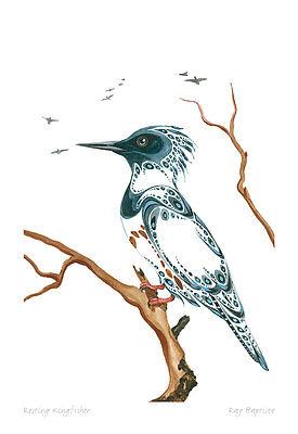Sunbird Benjamin Chee Chee Art Card Ojibway Native