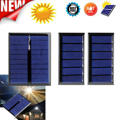 3V 5V Portable Module DIY Small Solar Panel for Cell Phone Toy Charger