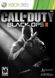 Call Of Duty Black Ops 2 Ii Xbox 360 Nuevo Sellado Ebay