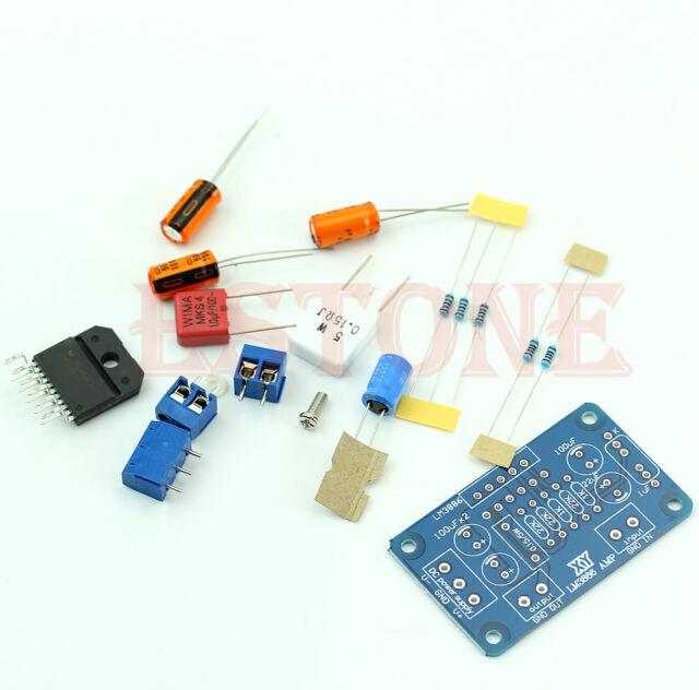 Amplifier Mono Digital Power AMP DIY Kit Components LM3886TF 60W Sound Audio