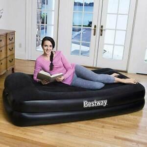 Materassi Gonfiabili Per Dormire.Materassino Materasso Gonfiabile Singolo 191x97cm Con Pompa