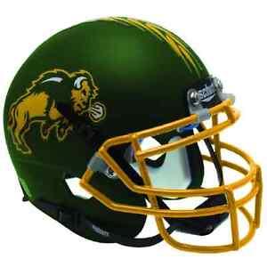 NORTH-DAKOTA-STATE-BISON-NCAA-Schutt-XP-Authentic-MINI-Football-Helmet-NDSU