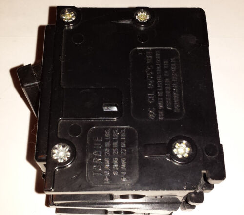 American Switch-Frank Adam-Bryant-Westinghouse 15 Amp 2 Pole Circuit Breaker