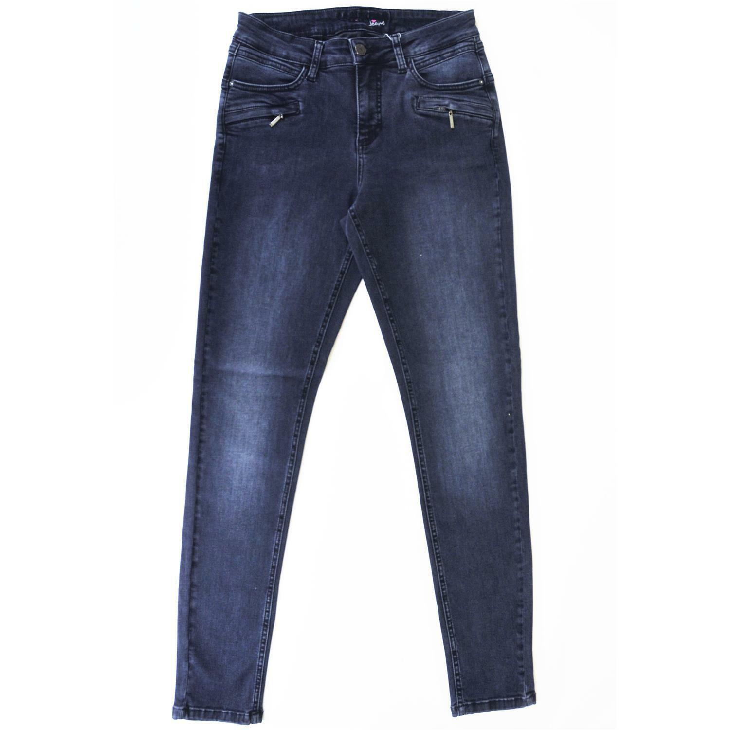 CRO - MAGIC FIT- modische Slim Fit Jeans in Dark Blau Used Stretch Gr. wählbar