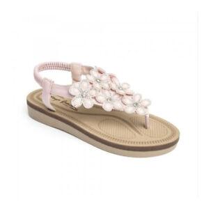 BAR FLAT Sandals Shoes Ladies Size