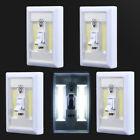5 PCS COB LED Wall Switch Wireless Battery Operated Closet Cordless Night Light
