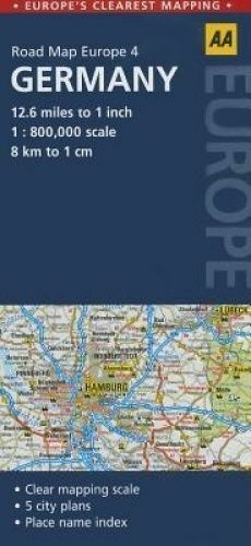 USED (LN) Road Map Germany (Road Map Europe) by AA Publishing