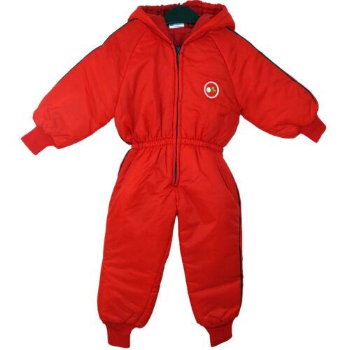 Enfants imperméable pluie combinaison de ski garçons filles tout en un costume enfants 9-24 mois