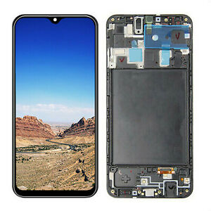 For-Samsung-Galaxy-A20-A205-LCD-Display-Touch-Screen-Digitizer-with-Frame-amp-Tool
