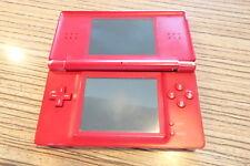 DS Lite Rot. Gameboy, Nintendo . Scharnierbruch Display Oben def. (29) < Defekt