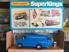 matchbox super kings K 11D-2.Rare German Set mint OVP excellent from 1981