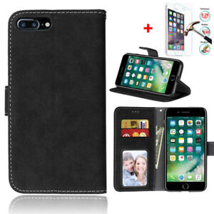 Men-Magnetic-Flip-Cover-Stand-Wallet-PU-Leather-Case-For-iPhone-X-8-7-S6-Plus-5S