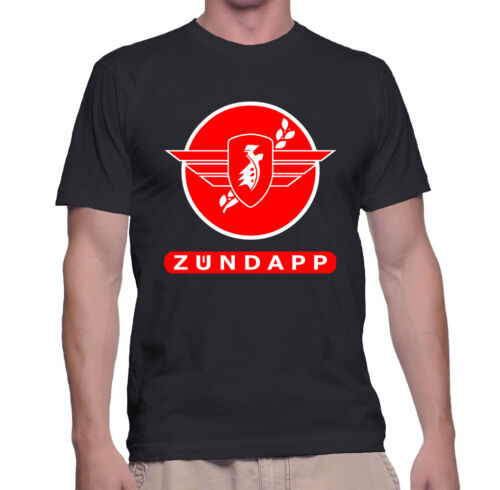 Vintage Zundapp German Classic Motorcycle World War Scooter T-shirt Size S To 5X