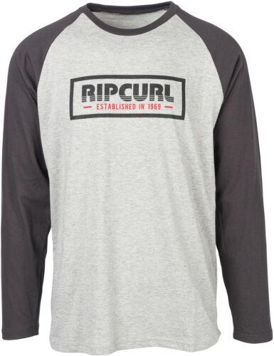 Rip Curl bigmama BOX T-shirt à manches longues en ciment vache