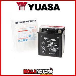 YTX7L-BS-BATTERIA-YUASA-KAWASAKI-EL250-A-B-C-Eliminator-250-1991-1996-E01157-Y
