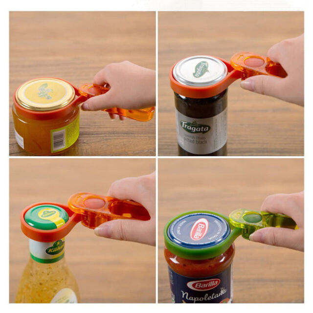 Canned Screw Cap Europeanism Style Multifunctional Can Opener Adjustable Size