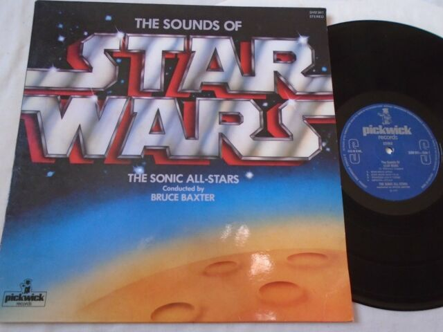 SOUNDS OF STAR WARS - THE SONIC ALL-STARS  BRUCE BAXTER ~ EX
