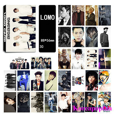 30pics set Bigbang G-dragon GD LOMOCARDS Kpop goods New