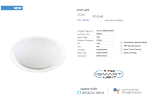 LED-Smart-Dimmable-Ceiling-Dome-Light-Supports-Alexa-Google-amp-3in1-Colour-Change