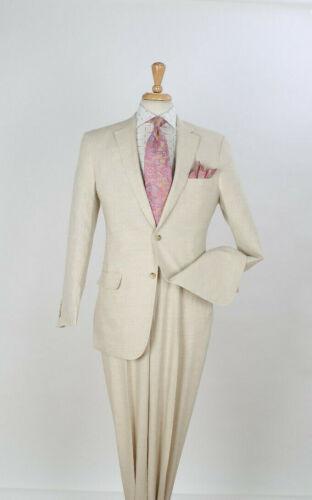 Apollo King 100/% Linen Men/'s 2 Piece Classic Fit Suit