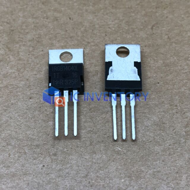 10PCS IRGB14C40L Encapsulation:TO-220,IGBT with on-chip Gate-Emitter