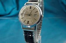 VINTAGE 1969 TIMEX VISCOUNT MENS CHROME PLATED AUTOMATIC WATCH