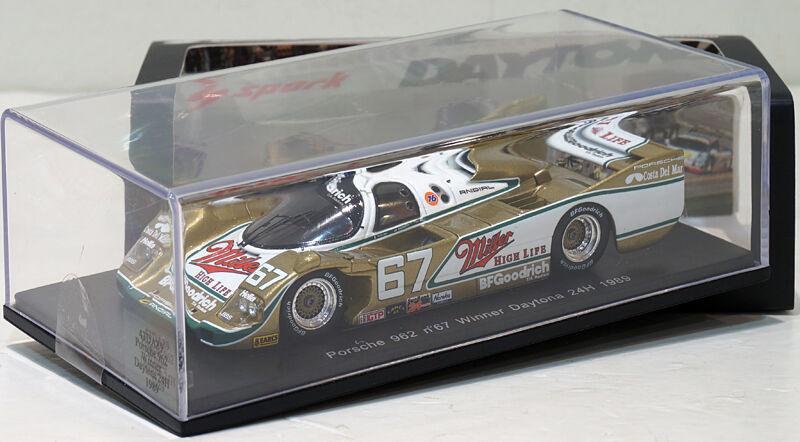 Spark  Porsche 962  67 Winner Daytona 24H 1989 43DA89