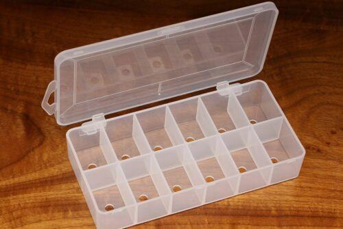 Doublage Distributeur Boîte Clair 12 compartiments vide