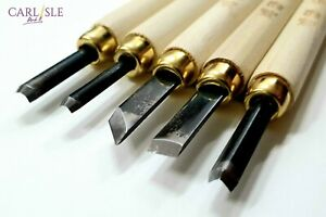 Woodcarving-Tools-With-Sharpening-Stone