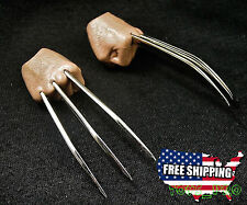 IN STOCK 1/6 Wolverine Metal Claw Hands RealisticHair Fist Steel Talons ❶USA❶