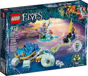 Lego Elfes 41191 - Naida Et L'embuscade Della Tortue Aquatique Neuf