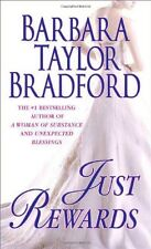 Harte Family Saga: Just Rewards 6 by Barbara Taylor Bradford (2006, Hardcover)