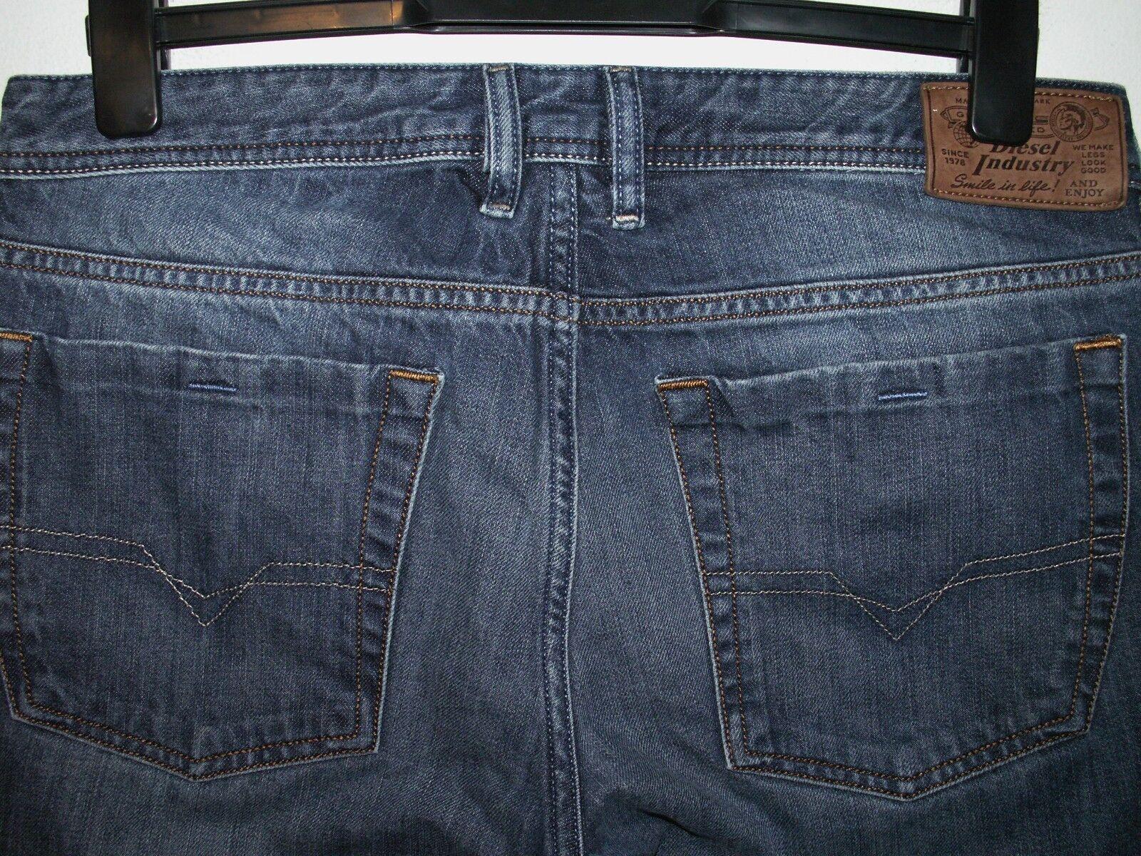 Diesel zathan Stiefelcut jeans wash 0801Z W32 L32 (a3597)