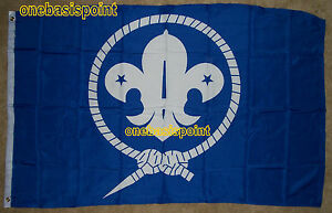 3-039-x5-039-Boy-Scouts-Flag-Banner-Outdoor-Indoor-Scouting-Crest-World-Jamboree-3X5