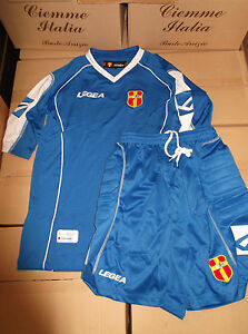 maglia portiere + pantaloncino short messina nuovi nuovo taglia L-XL azzurro