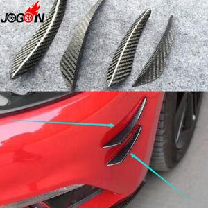 Fibra-di-carbonio-corpo-laterale-splitter-Per-VW-GOLF-5-6-7-GTI-R-R-LINE-Polo