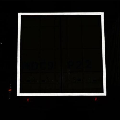 High Intensity Reflective Tape Self-Adhesive Diamond Grade Red White Yellow 3D
