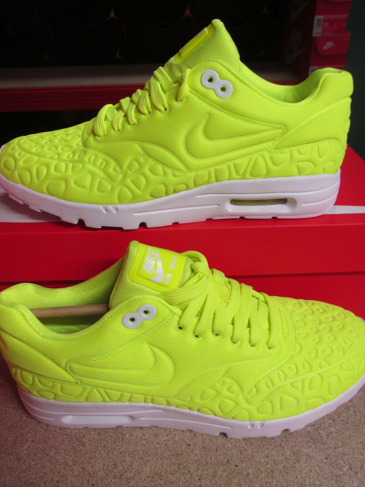 Nike Womens Air Max 1 Ultra Plush Running Trainers 844882 700 Sneakers Shoes