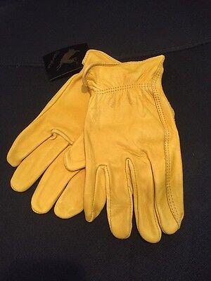 Men/'s Luxury Fashion Deerskin Dress Gloves Unlined-Brown and Black