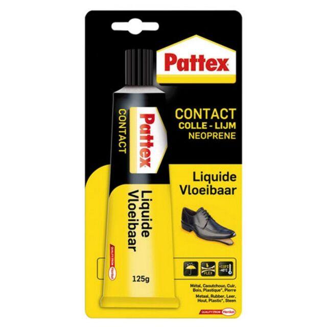 PATTEX COLLE CONTACT NEOPRENE LIQUIDE 125 gr BOIS VERRE CAOUTCHOUC... ref 370106
