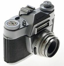 VOIGTLANDER 35mm SLR VINTAGE FILM CAMERA BESSAMATIC COLO-SKOPAR 1:2.8/50mm LENS