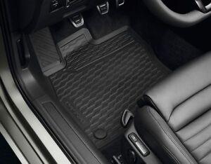 Original-VW-Fussmatten-Passat-B8-3G-Variant-Alltrack-vorn-Allwettermatten-Gummi