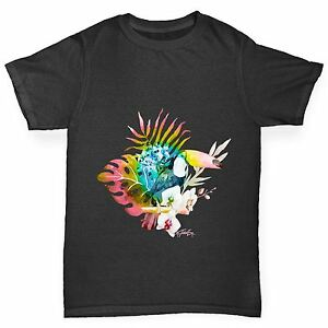 Twisted-Envy-Boy-039-s-Toucan-dans-la-nature-Drole-T-shirt-en-coton